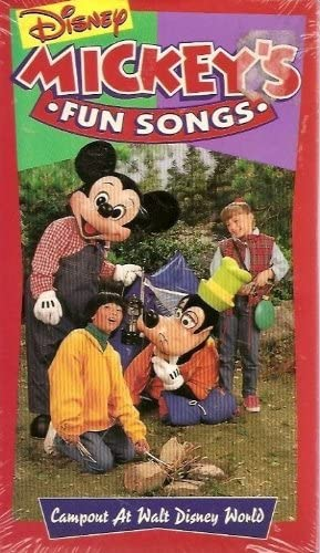 Disney's Sing-Along Songs: Campout at Walt Disney World (1994-1996 VHS)