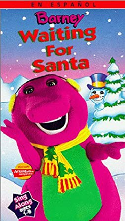 Barney: Waiting for Santa (1990-1998 VHS)