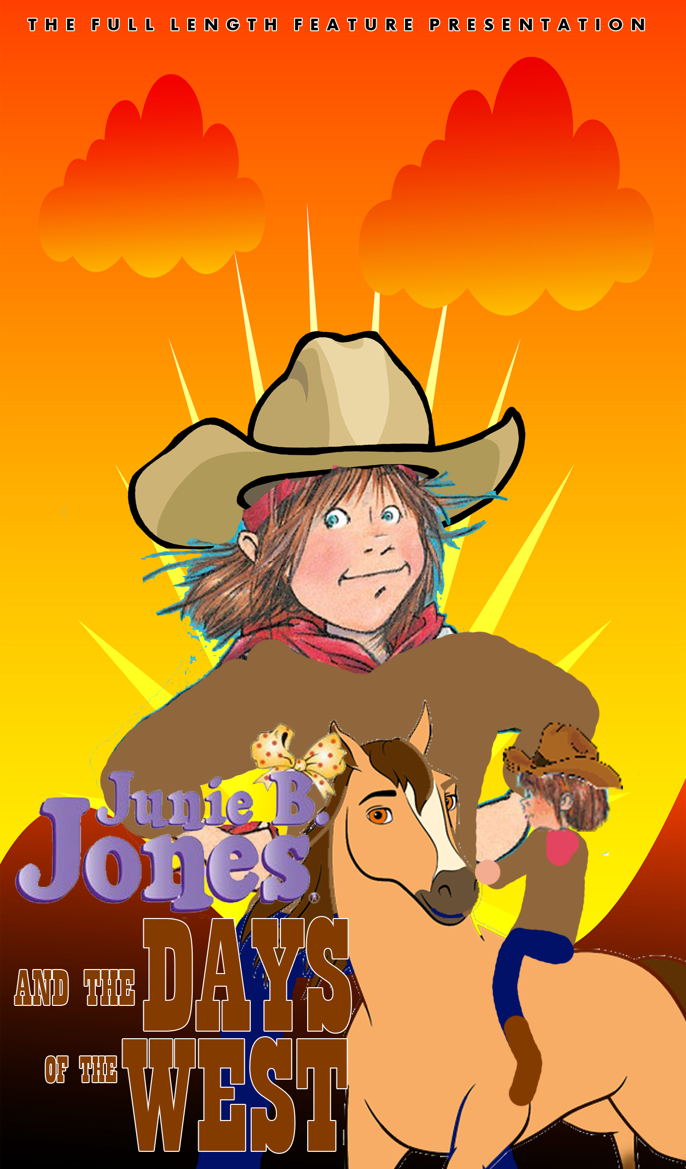 Junie B. Jones and the Days of the West (1998 VHS)