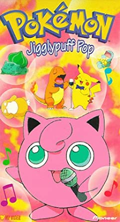Pokemon Jigglypuff Pop (2000 VHS)