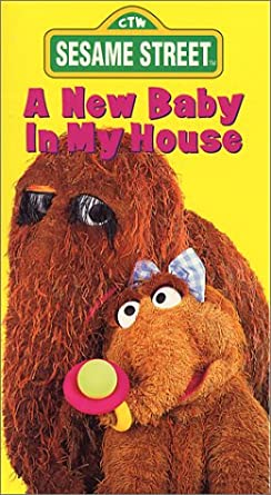 Sesame Street: A New Baby In My House (1994-1996 VHS)