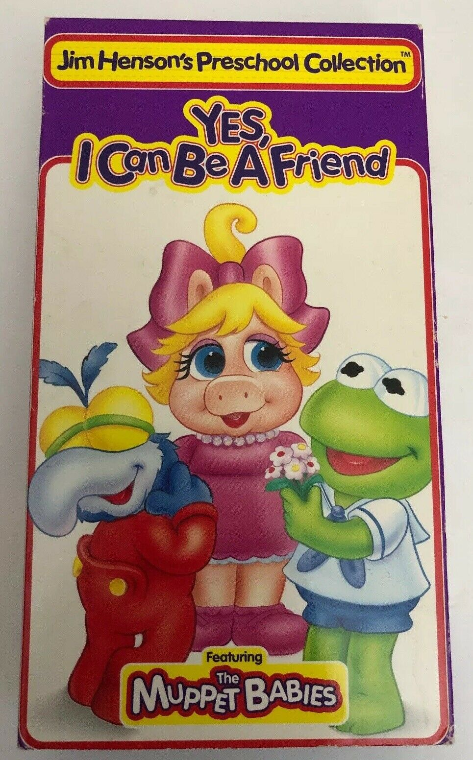 Muppet Babies: Yes, I Can Be a Friend (1995 VHS)