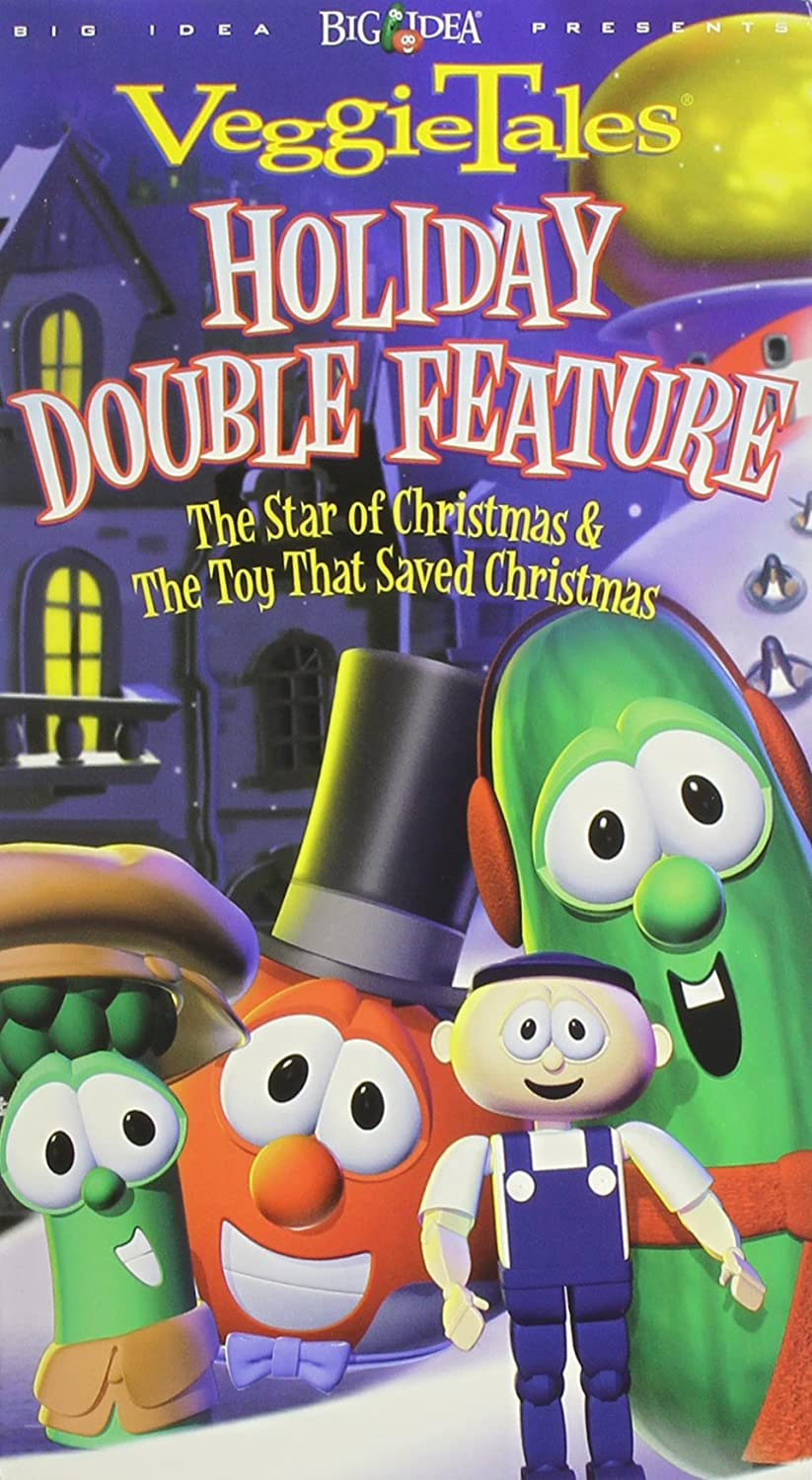 VeggieTales: Holiday Double Feature (2004 VHS)