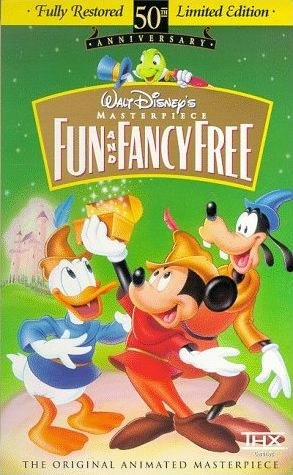 Fun and Fancy Free (1997 VHS)