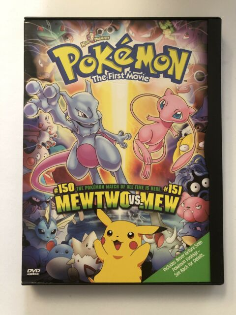 Pokemon The First Movie (2000 DVD)