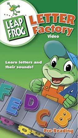 LeapFrog: Letter Factory (2003 VHS)