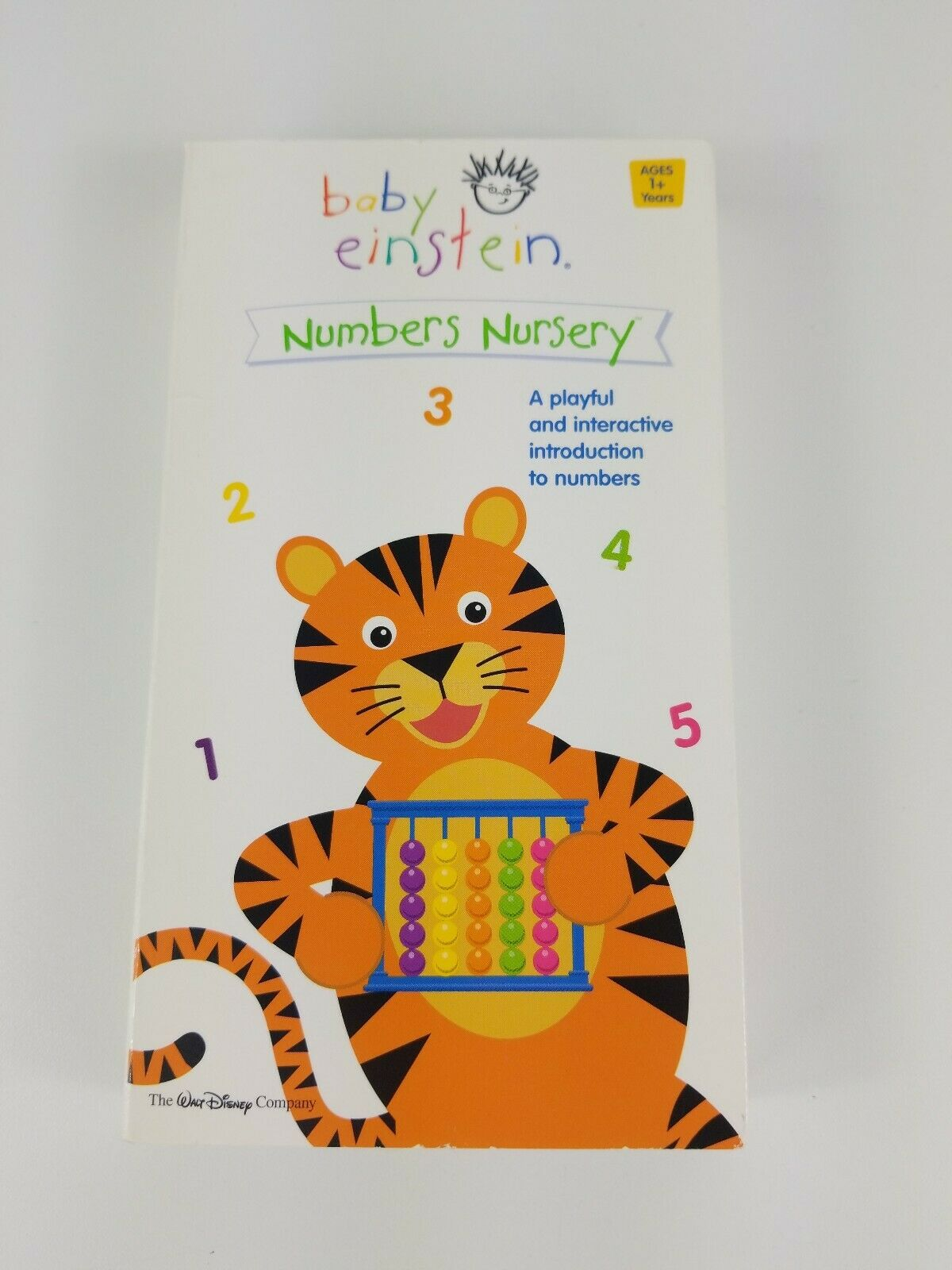 Baby Einstein: Numbers Nursery (2003-2004 VHS)