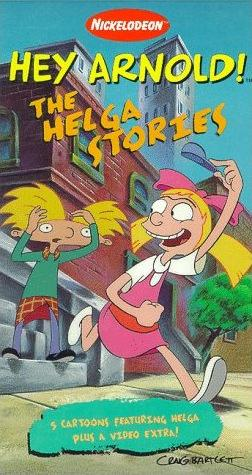 Hey Arnold! Helga Stories (1997 VHS)