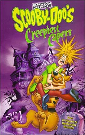 Scooby-Doo's Creepiest Capers (2000-2002 VHS)
