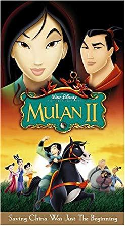 Mulan II (2005 DVD/VHS)