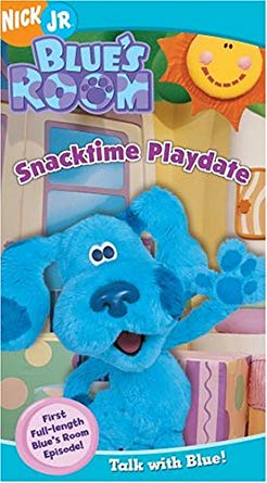 Blue's Room: Snacktime Playdate (2004 VHS)