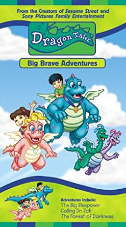 Dragon Tales: Big Brave Adventures (2000 VHS)