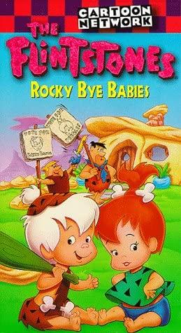 The Flintstones: Rocky Bye Babies (1994-2000 VHS)