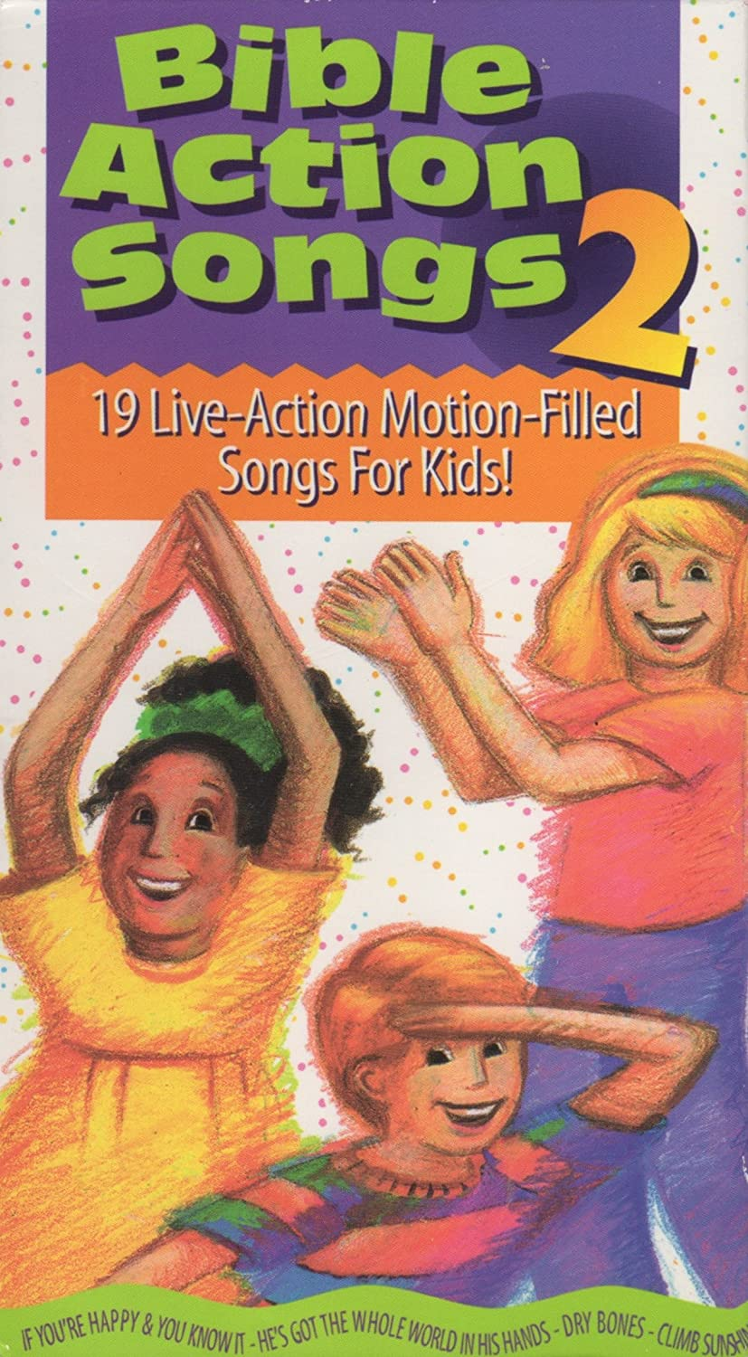 Bible Action Songs 2 (1997 VHS)