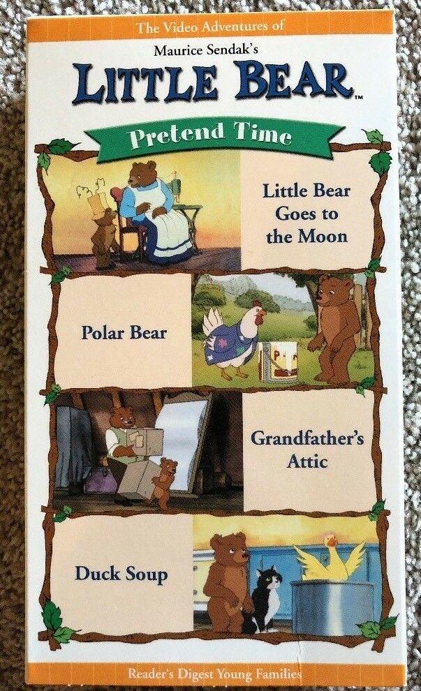 Little Bear: Pretend Time (2002 VHS)