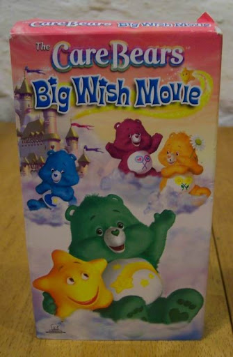 The Care Bears Big Wish Movie (2005 VHS)