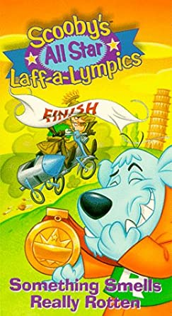 Scooby's All Star Laff-a-Lympics: Something Smells Really Rotten (1996 VHS)
