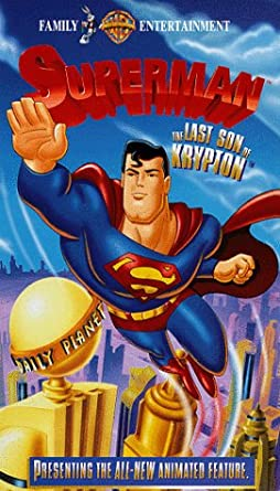 Superman: The Last Son of Krypton (1996-2003 VHS)