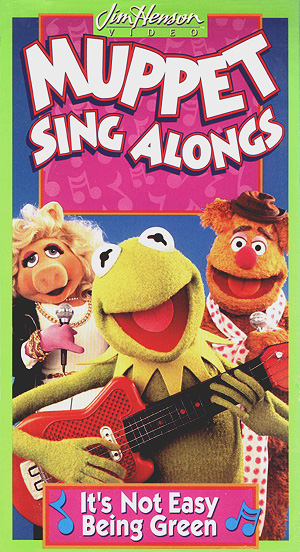 Muppet Sing Alongs: It's Not Easy Being Green (1994 VHS)
