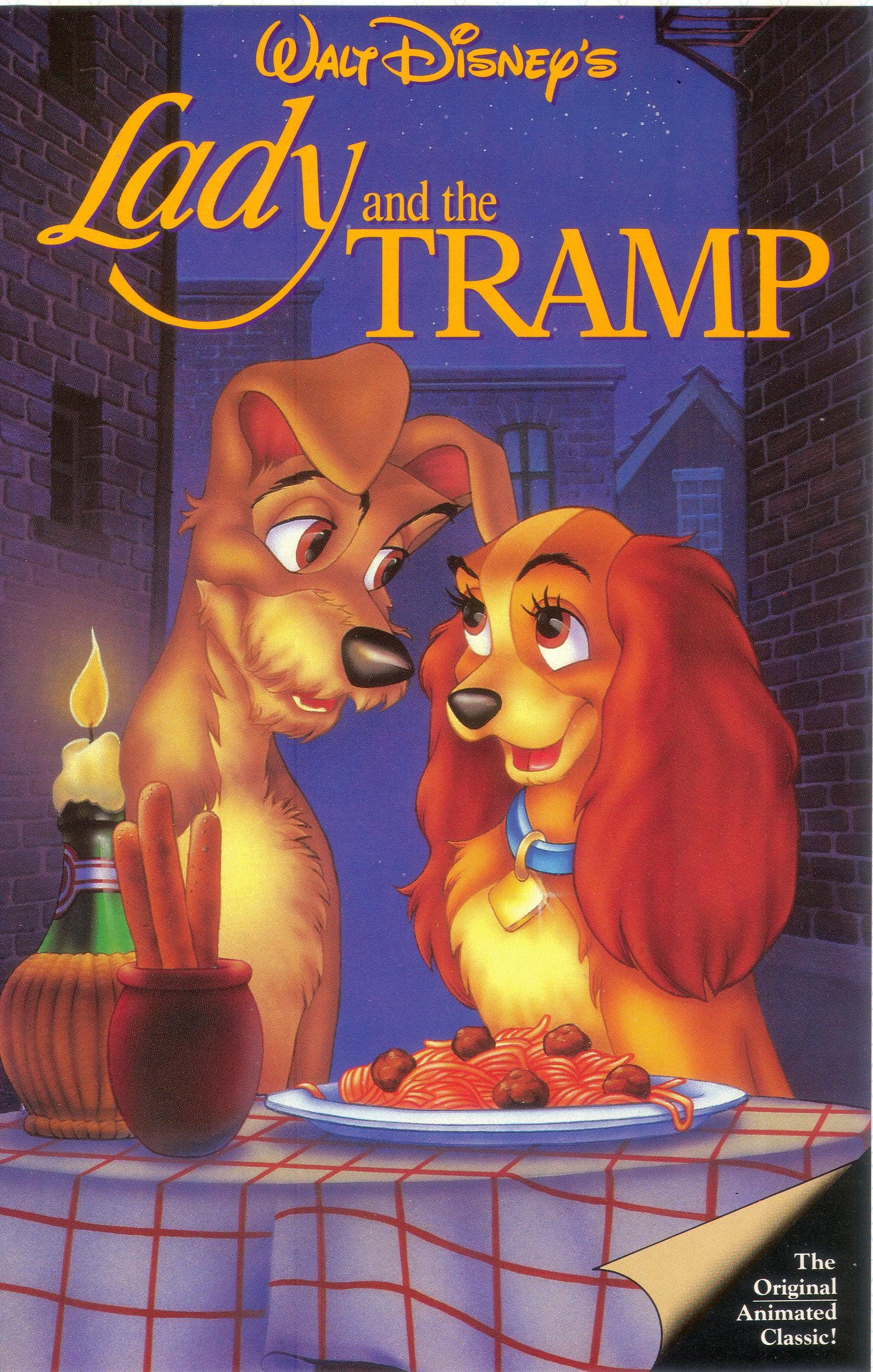 Lady And The Tramp 1992 Vhs Angry Grandpa S Media Library Wiki Fandom