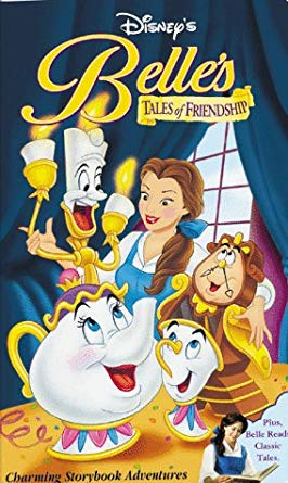 Belle's Tales of Friendship (1999 VHS)