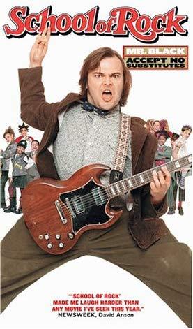 School of Rock (2004 VHS)