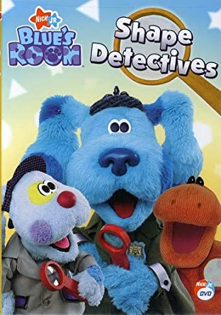 Blue's Room: Shape Detectives (2007 DVD)