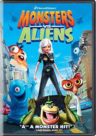 Monsters VS Aliens (2009 DVD)