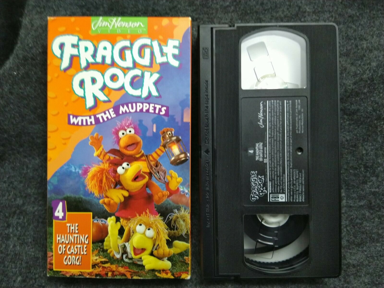Fraggle Rock Vol. 4 The Haunting Of Castle Gorg (1993 VHS)