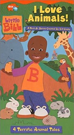 Little Bill: I Love Animals! (2002 VHS)