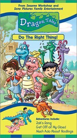 Dragon Tales: Do the Right Thing! (2001 VHS)