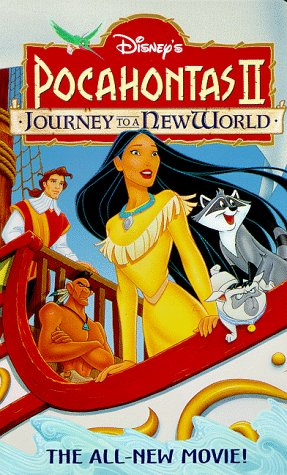 Pocahontas II: Journey to a New World (1998 VHS)