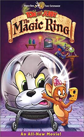 Tom and Jerry: The Magic Ring (2002 VHS)