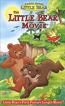 The Little Bear Movie (2001 VHS)