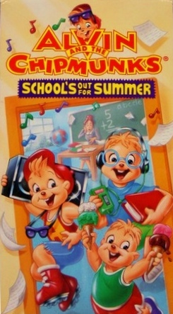 Alvin and the Chipmunks: School's Out for Summer (1994 VHS)