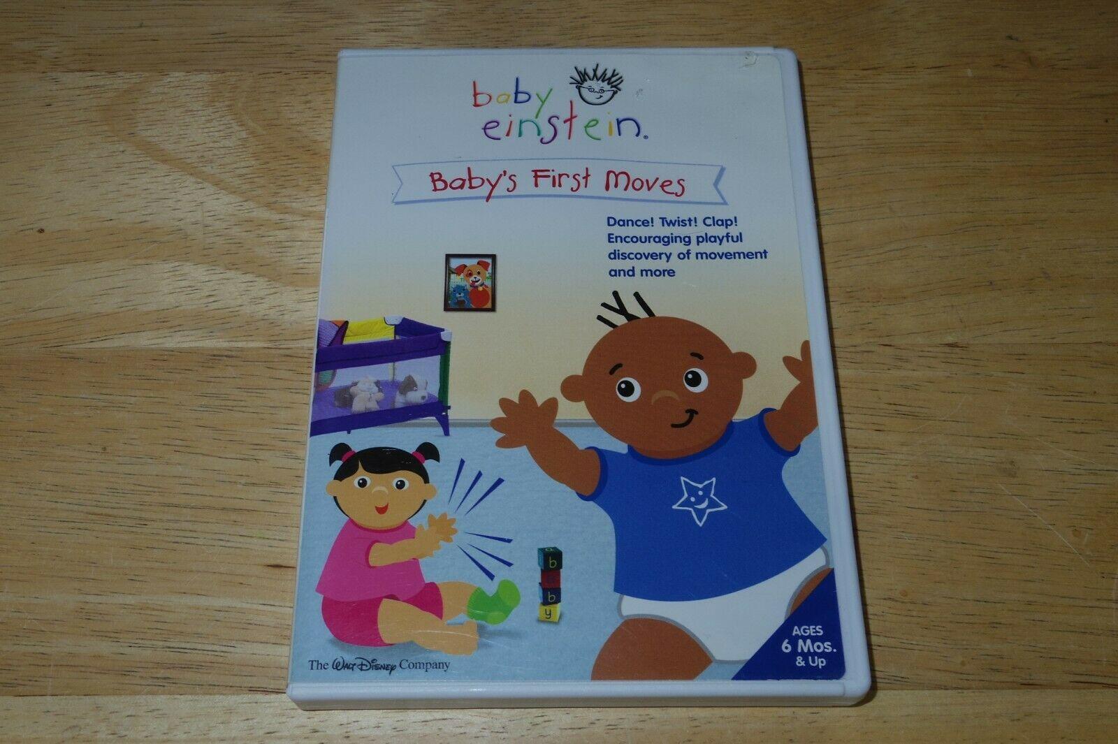 Baby Einstein: Baby's First Moves (2006 DVD)