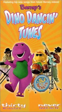 Barney: Barney's Dino Dancin' Tunes (2001-2004 VHS)