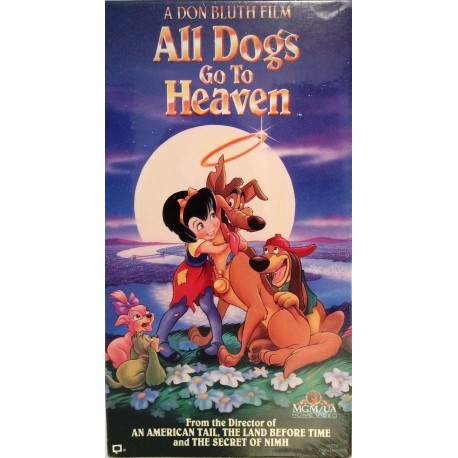 All Dogs Go to Heaven (1990-2000 VHS)