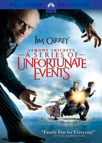 Lemony Snicket's A Series of Unfortunate Events (2005 DVD)