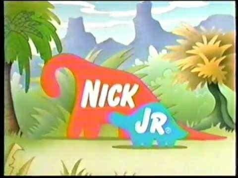 Nick Jr Dinosaurs Bumper (1999)