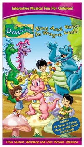 Dragon Tales: Sing and Dance in Dragon Land! (2005 VHS)