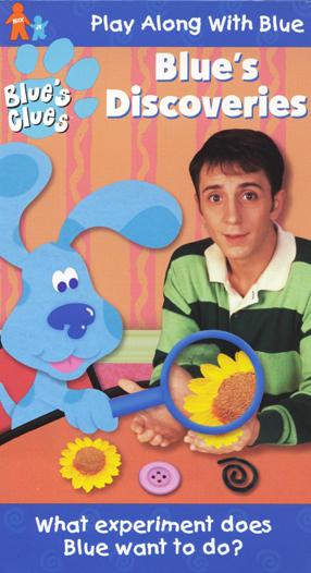 Blue's Clues: Blue's Discoveries (1999 VHS)