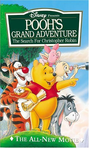 Pooh's Grand Adventure: The Search for Christopher Robin (1997 VHS)