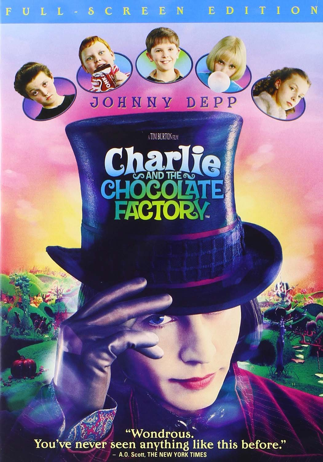 Charlie and the Chocolate Factory (2005 DVD)