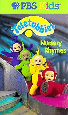 Teletubbies: Nursery Rhymes (1999 VHS)
