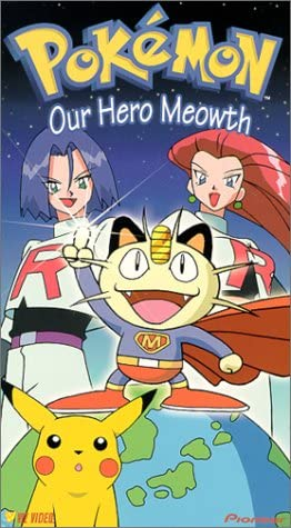Pokemon Our Hero Meowth (2000 VHS)