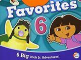 Nick Jr Favorites 6 (2007 DVD)