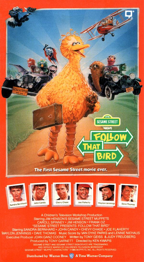 Sesame Street Presents: Follow That Bird (1986-2002 VHS)