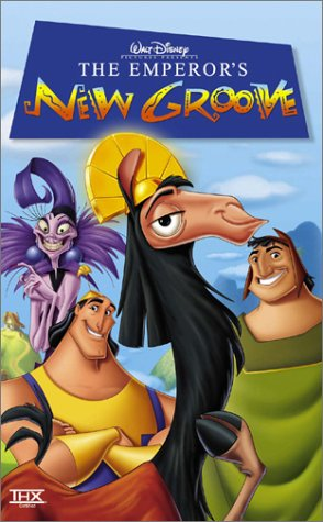 The Emperor's New Groove (2001 VHS/DVD)
