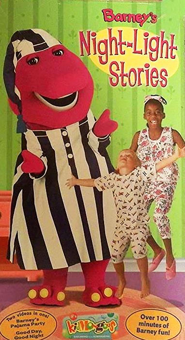 Barney: Barney's Night-Light Stories (2002 VHS)
